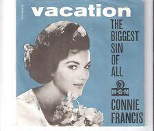 CONNIE FRANCIS - Vacation         ***DK - Press***
