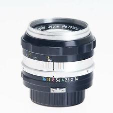 Nikon Nikkor S 50mm F1.4 Non-AI Manual Focus Standard Prime Lens