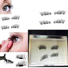 UK 2Pairs Magnetic Eyelashes Handmade Reusable (4 pc)