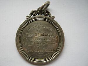 Victorian Scottish silver Prize medal Parish of Crawford 1842