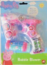Peppa Pig Bubble Gun Blower Toy