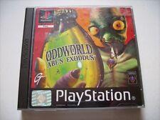 Oddworld Abe 's exoddus ps1 PlayStation 1