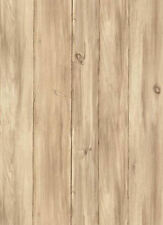 Tan & Taupe Knotted Pine Barnboards Wallpaper  WL5542  Double Roll FREE SHIPPING