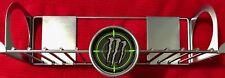2008 MONSTER Hitman Metal Rack Energy Shot Shooter Drink Sign Unused Mint Cond
