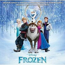 Frozen CD (Original Film Soundtrack Album) Walt Disney Music (LET IT GO)