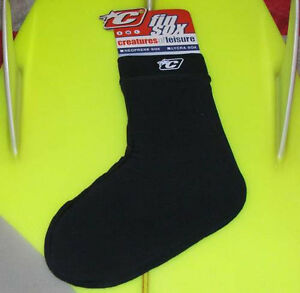 Creatures of Leisure Body Board Fin Socks - Team Designed Lycra Fin Sox Medium