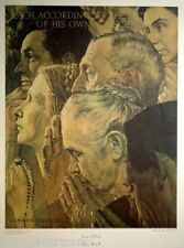 "NORMAN ROCKWELL ""FREEDOM OF WORSHIP"" 