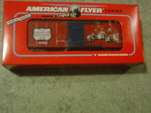 American Flyer  Boys Railroad Club Boxcar  Original Box 6-48483