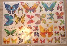 Baby Children Kid Girl Bedroom Butterfly Flower Wall Sticker Decal Stickaround