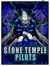 Stone Temple Pilots La Silkscreen Gig Poster 2011 S/N