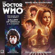DOCTOR WHO Big Finish Audio CD Tom Baker 4th Doctor #5.5 GALLERY OF GHOULS