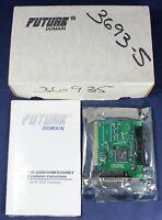 Future Domain TMC-850MEX(PT) 8-Bit AT SCSI Controller Card