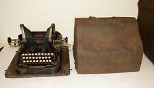 Oliver Typewriter Model 11 Bat Wing Base Cover Rare Antique 1922 Visible Writer