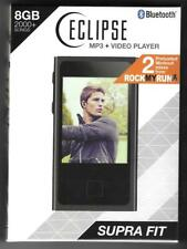 """NEW-ECLIPSE Supra Fit 8GB MP3-2.8"""" Touch Screen Bluetooth, Video Player+MORE"""