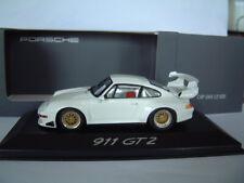 Porsche 911 (993) GT2 Evo, Minichamps CAP04312005,  weiß, Plain Body, 1:43, OVP