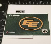 2018 Saskatchewan Rush Lacrosse Collectible Tim Hortons Gift Card !!