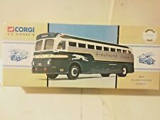 Corgi Yellow Coach Greyhound Bus 743 Chicago 1:50 Scale 98470