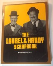 The Laurel & Hardy Scrapbook~by Jack Scagnetti~Paperback~1982