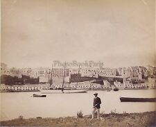 Italie Croatie ? Photo Kettlewell captain yacht Marchesa UK Vintage ca 1881