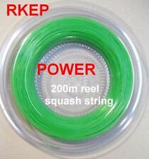 Rkep Power 1.2mm squash racquet racket string 200m Green