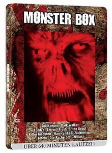 Dvd - Monster Dvd-Blutbox (Metallbox-Edition/ 8 Filme) DVD18 #G1994036