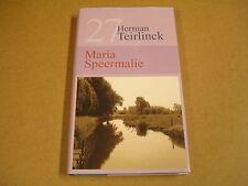 BIBLIOTHEEK HET LAATSTE NIEUWS N° 27 / HERMAN TEIRLINCK - MARIA SPEERMALIE