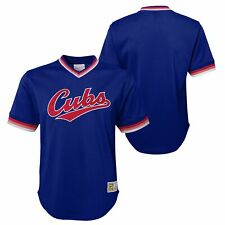 Mitchell & Ness NBA Youth (8-20) Chicago Cubs Throwback Mesh V-Neck Jersey Top