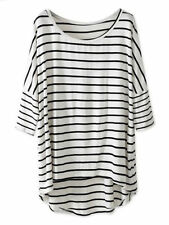 Casual Striped Tops & Blouses for Women