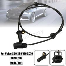 Front Left Car ABS Wheel Speed Sensor For Volvo S60 S80 V70 XC70 98-10