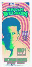 Mint & Signed Brian Wilson 1999 Michigan Theater Ann Arbor Arminski Handbill