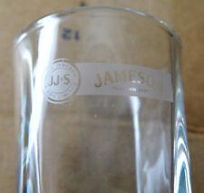 Shot Glass - Short - JJ & S Jameson Irish Whiskey