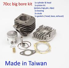 performance cylinder kit 47mm (10mm) 70cc Kasea  50cc 2T ATV Quads scooter