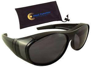 Polarized Fit Over Sunglasses Wear Over Glasses Driving Fishing Golf Men Women