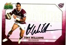 Autograph Manly Sea Eagles Single NRL & Rugby League Trading Cards