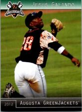 2012 Grandstand Augusta GreenJackets Minor League - Pick Choose Your Cards