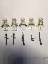 Lego WW2 German Winter Squad : Brickarms, MMCB Capes