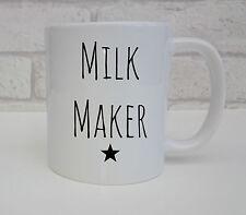 Fabricante de la lactancia materna leche Taza Café Taza para nueva mamá la lactancia