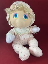 "Pampers Hasbro Softies 12"" Baby Miss Piggy 1984 Henson Muppet Bonnet Plush"