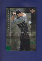 Justin Rose RC 2002 Upper Deck Golf  #117