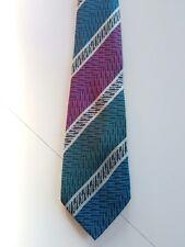 MISSONI  cravatta tie SETA SILK  ORIGINALE  MADE IN ITALY vintage