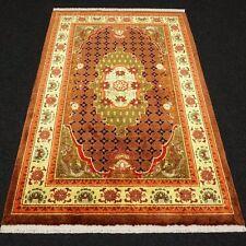 Orient Teppich China 187 x 120 cm Seidenteppich Seide Vogel Phönix Silk Carpet