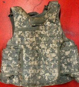 ARMY ACU DIGITAL PLATE CARRIER MADE W/KEVLAR INSERTS MEDIUM 8470-01-551-7703