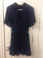 isabel marant Blue V Neck Dress Sz 36
