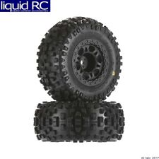 Pro-Line 1182-22 Badlands SC 2.2 inch /3.0 inch M2 Tires Mounted Black Wheels