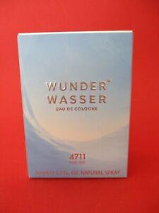 4711 WUNDERWASSER für SIE   50 ml Eau de Cologne Neu und OVP