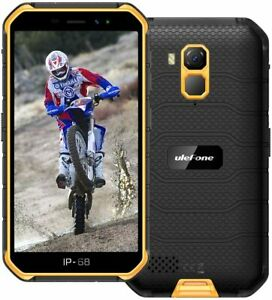 Unlocked Smartphone 32GB Quad Core Dual SIM Android 10 Cell Phone Waterproof NFC