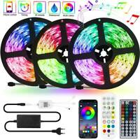 RGB LED Stripe 5050 SMD Leiste Streifen Band Licht Leuchte Lichterkette 5m-15m