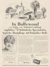 J1448 Sapone PALMOLIVE - Pubblicità grande formato - 1929 Old advertising