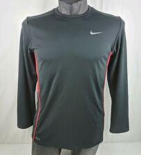 Nike Dri Fit Training Shirt Youth XL Black Long Sleeve Fitness Base Layer