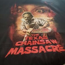 THE TEXAS CHAINSAW MASSACRE  XL X-large  Black T-shirt Fright Crate Exclusive